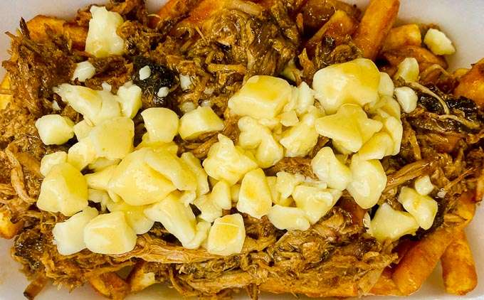 Poutine with pulled pork - Bbq Bandits